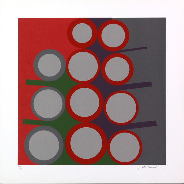 Judith Lauand, 'Untitled', 2012, Print, Serigraphy on Rives Bright White paper, LAART