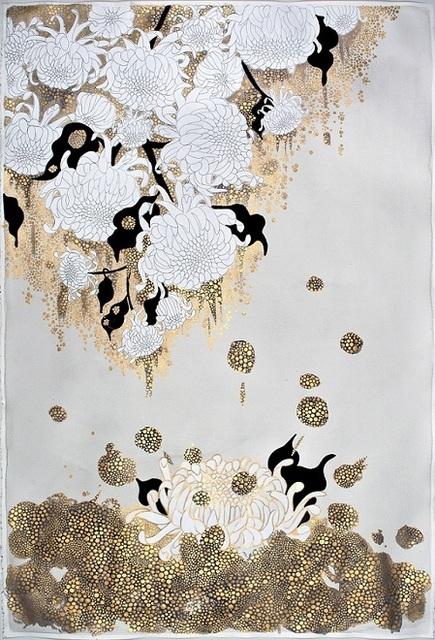 """, 'the flowers , """"it pours"""",' 2015, Galerie du Monde"""