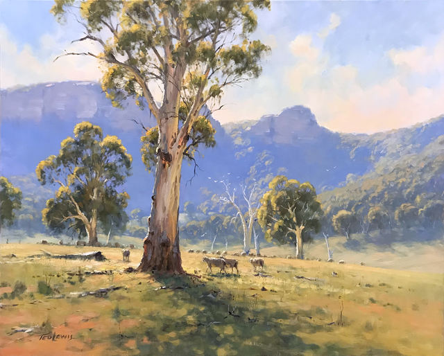 Ted Lewis, 'Morning in the Capertee', 2019, Wentworth Galleries