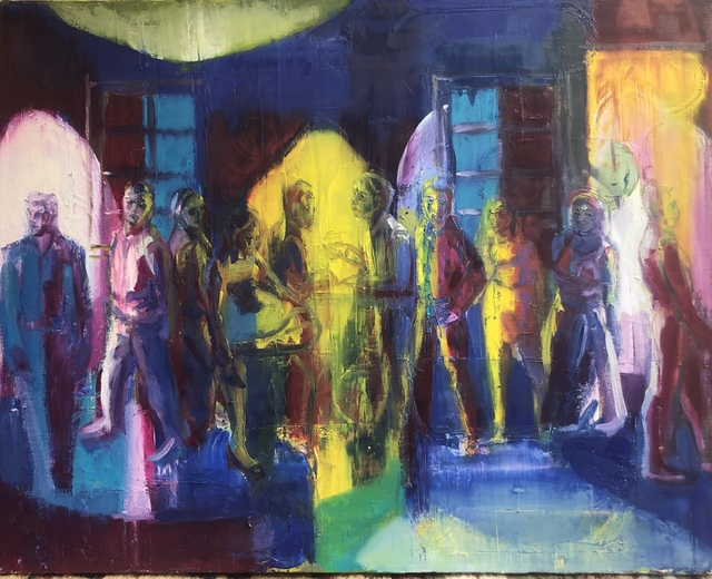 , 'Optical Illusion,' 2019, Adah Rose Gallery