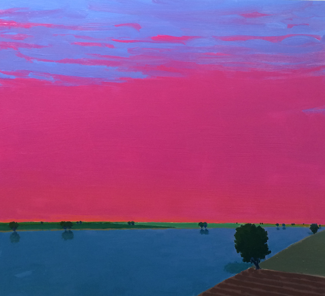 John Karl Claes, 'Pink Evening', ÆRENA Galleries and Gardens