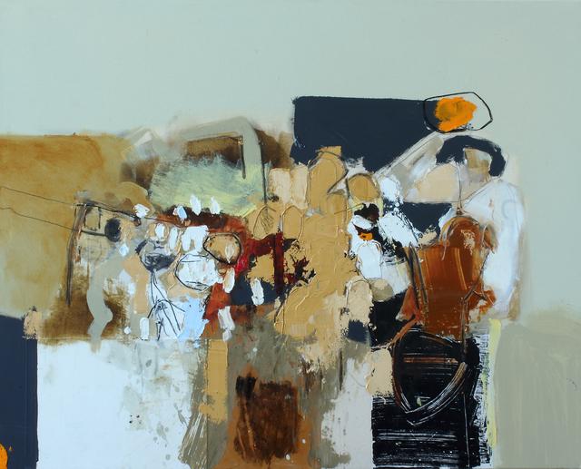 , 'Matières en mouvement 5,' 2017, Galerie de Bellefeuille