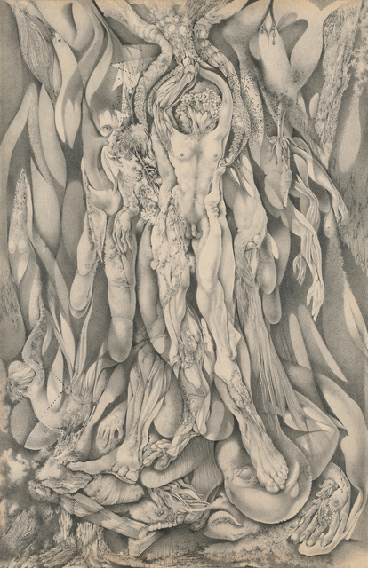 , 'Untitled [Nudes Emerging from Botanical and Avian Forms],' 1948, Francis M. Naumann Fine Art