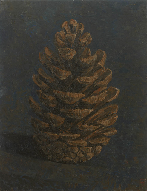 , 'Fir Cone (from Corsican Pine),' 2017, John Martin Gallery