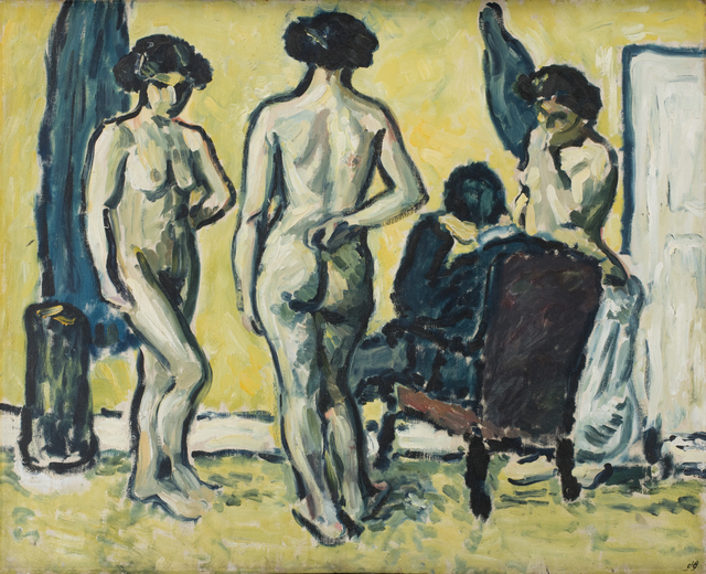 , 'The Judgment of Paris,' 1909, Statens Museum for Kunst