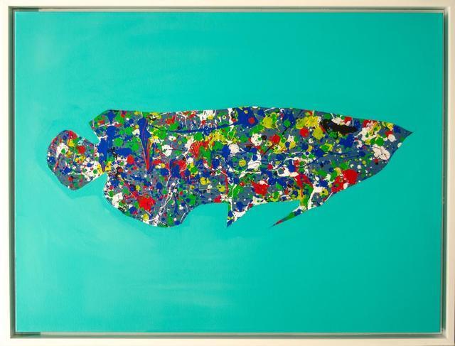 , 'Dropfish (Teal),' 2016, David Benrimon Fine Art