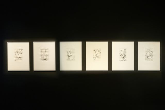 ", '""Légendes dorées"" [Golden Legends],' 2010, New Museum"