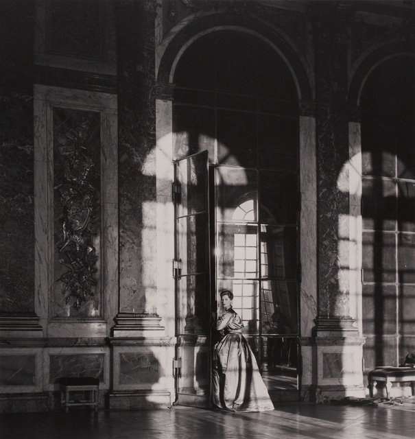 , 'Fiona Campbell, The Palace at Veisailles, Paris,' 1951, Peter Fetterman Gallery