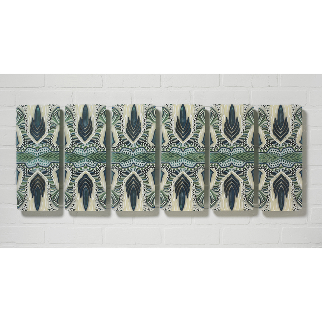 Martie Negri, 'Peacock I', 2017, Bender Gallery