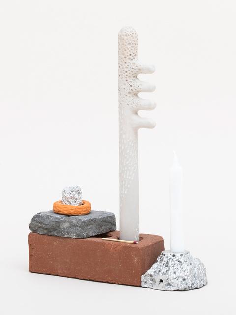 , 'Souvenir 137 - Brick Candle #3,' 2017, Fisher Parrish Gallery