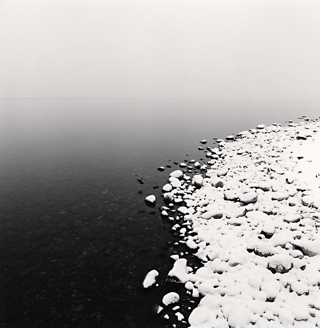 , 'Snow on Pebbles, Toya Lake, Hokkaido, Japan,' 2009, Patricia Conde Galería