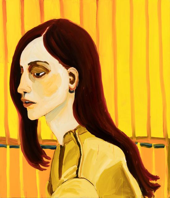 , 'Yellow Fence,' 2017, Mimmo Scognamiglio / Placido