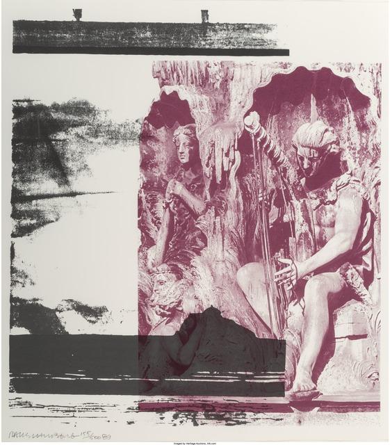 Robert Rauschenberg, 'Broken Harp', 1989, Heritage Auctions
