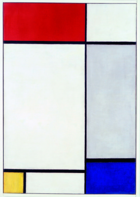 Piet Mondrian, 'Composition with Red, Yellow and Blue', 1927, Tate Liverpool