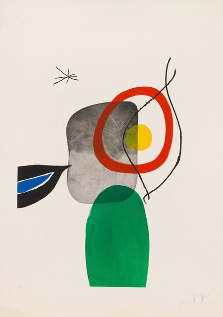 Joan Miró, 'Tir à l'Arc', 1972, Print, Original aquatint, etching and carborundum printed in colors on Arches wove paper, Galerie d'Orsay