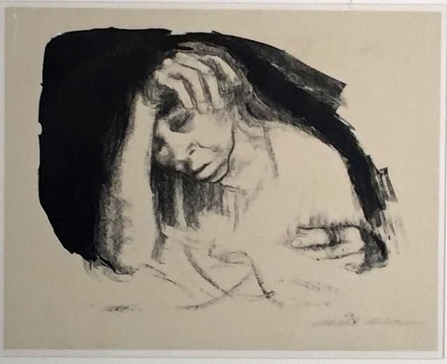 Käthe Kollwitz, 'HEIMARBEIT (HOME WORK)', 1925, Edward T. Pollack Fine Arts