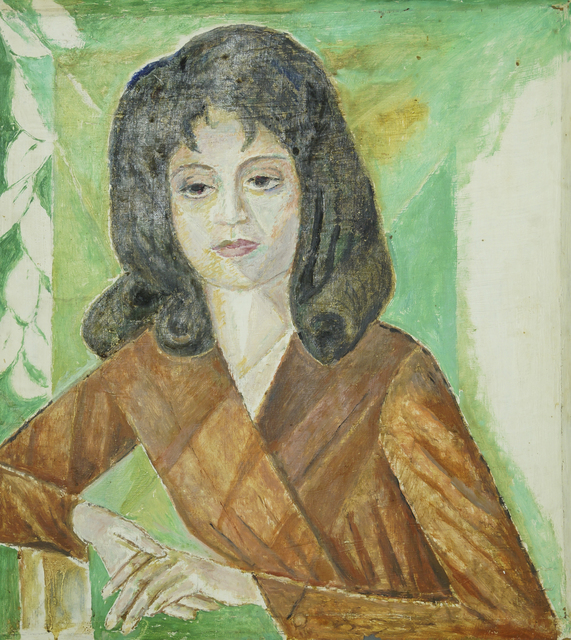 Marie Vorobieff Marevna, 'Portrait of Marika', Roseberys