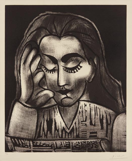 Pablo Picasso, 'Jacqueline lisant (Jacqueline Reading)', 1962, Phillips