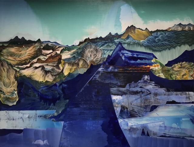 , 'Blue Weight,' 2018, Jonathan Ferrara Gallery