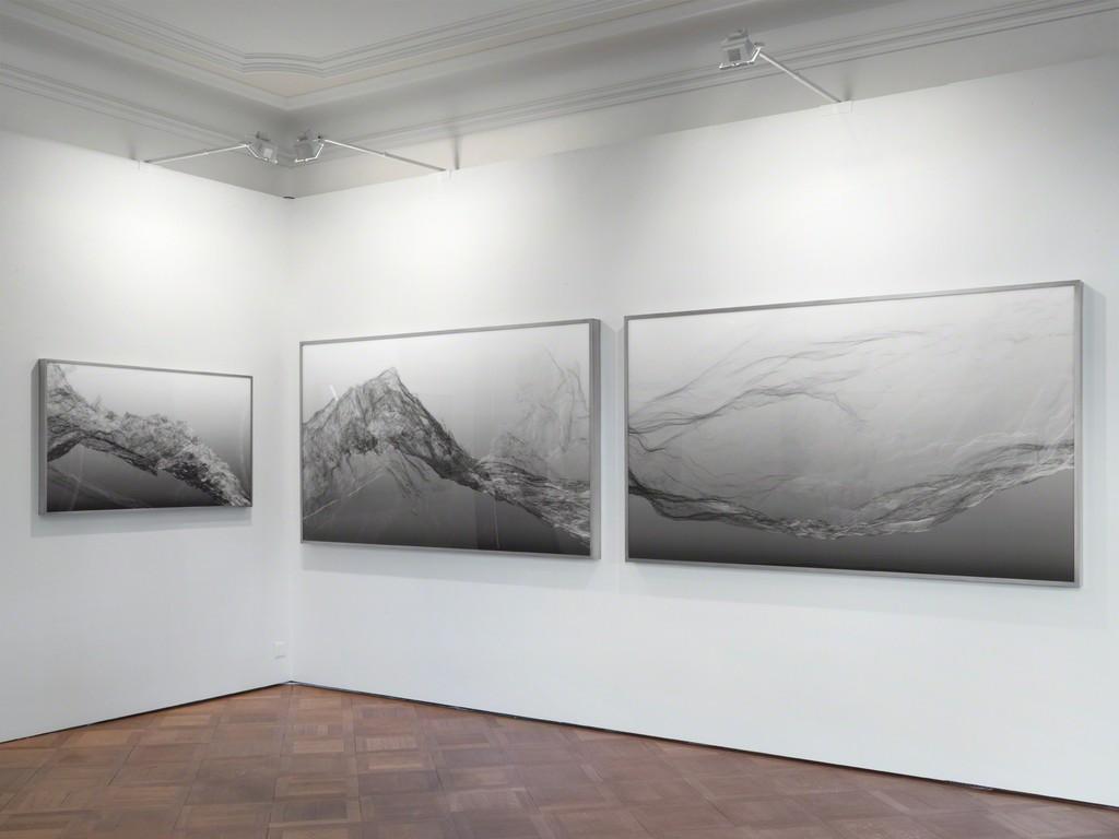 Installation view, A Future Archeology, Continuous Topography, SCHEUBLEIN + BAK, Zurich 2016