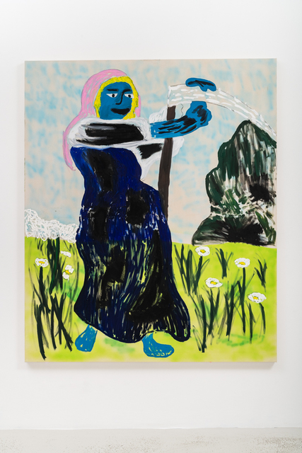 , 'Working 9-5, wat a way to earn a living,' 2018, Annka Kultys Gallery