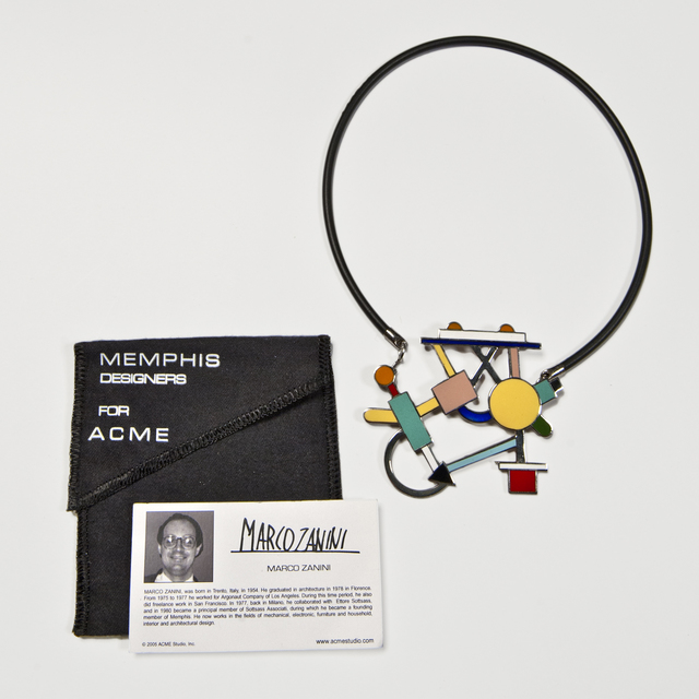 , 'Morgana Necklace,' 1985-1986, The Modern Archive