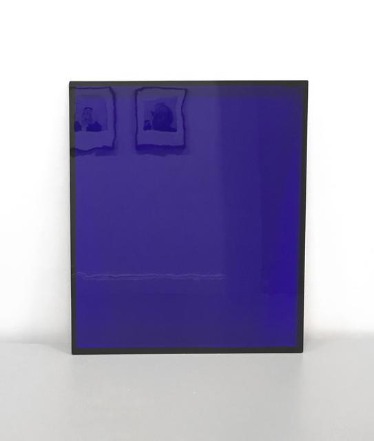 , 'Blaue Scheibe (Ehre an Joseph Beuys),' 1992, MLTPL
