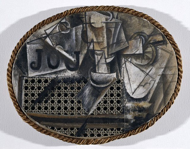 Pablo Picasso, 'Still-life with Chair Caning', Spring 1912, ARS/Art Resource