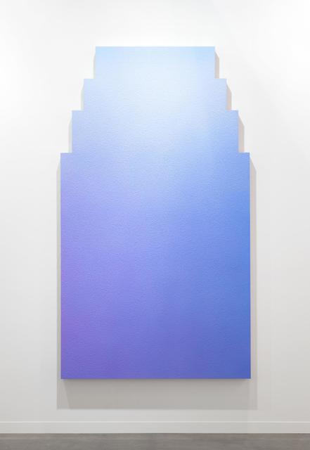 Alex Israel, 'Untitled (Flat)', 2013, Painting, Acrylic on stucco, wood and aluminium frame, ceramic tiles, Almine Rech