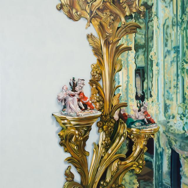 , 'Gold Room,' 2017, Bert Green Fine Art