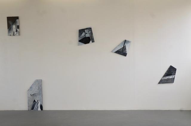 , 'Chute,' 2017, Espace D'art Contemporain 14N 61W