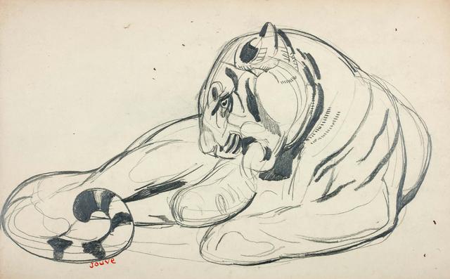 Paul Jouve, 'Wildcat', Circa 1925, Aguttes