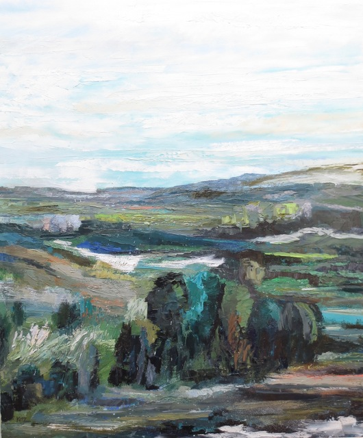 , 'Hillside Study,' 2018, Seager Gray Gallery