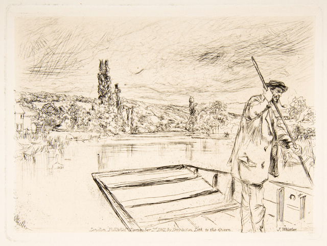 , 'The Punt,' 1861, Hans den Hollander Prints