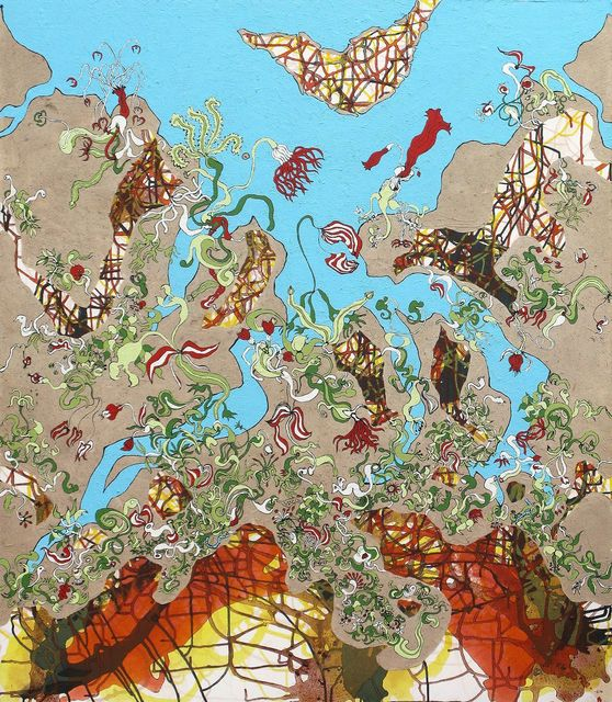 , 'Hanging Gardens of Babylon 3,' 2013, Janet Rady Fine Art