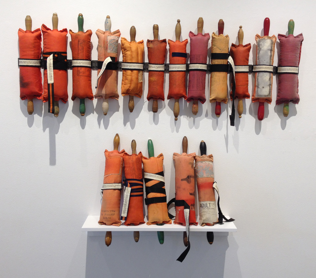 , 'At Sea, collaboration including poetic responses by Elizabeth Bradfield,' , Clark Gallery