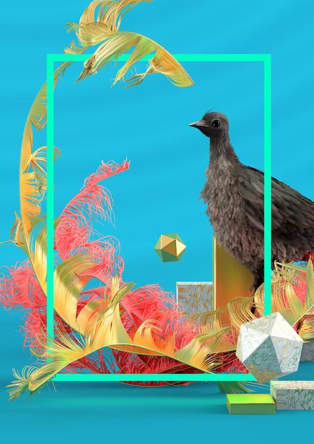 , 'LYREBIRD,' 2017, Espai Tactel