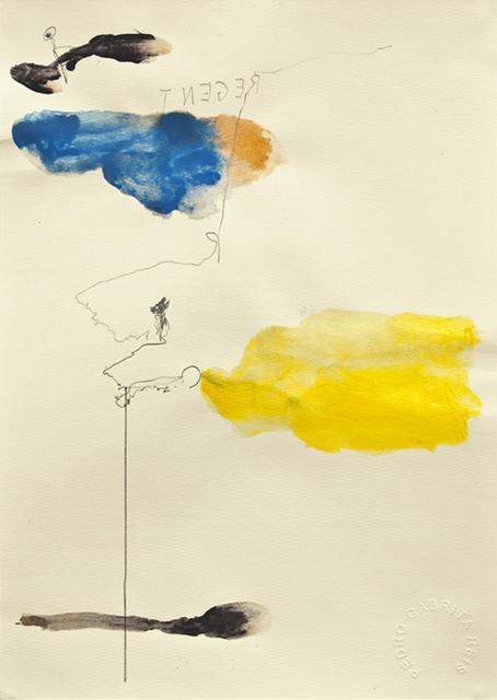 , 'Os desenhos da praia #32,' 2011, Galeria Miguel Nabinho