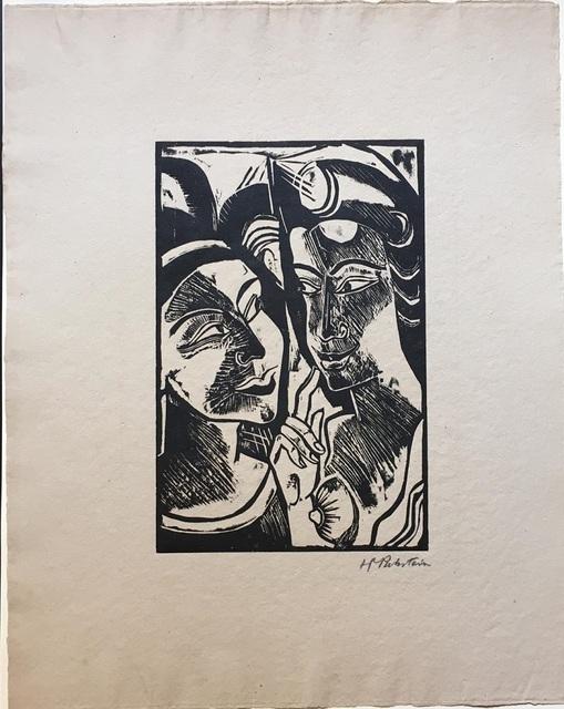 Max Pechstein, 'Zwiesprache', 1918, Wallector