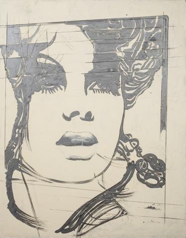 , 'La modella inglese (English Model),' 1969, Partners & Mucciaccia