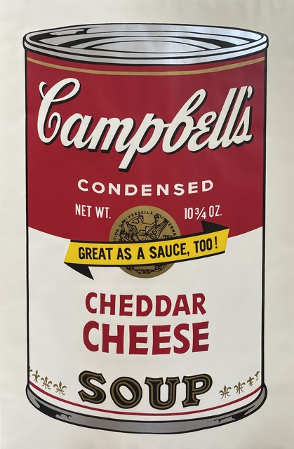 Andy Warhol, 'Campbell's Soup II, 1969 Cheddar Cheese F&S II.63', 1969, Fine Art Mia