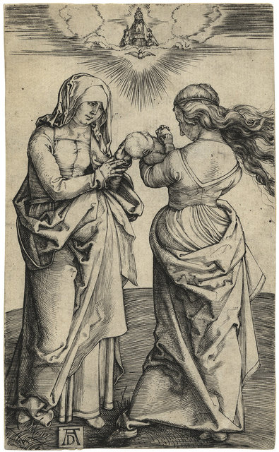 , 'Madonna and Child with St. Anne,' 1500, Harris Schrank Fine Prints