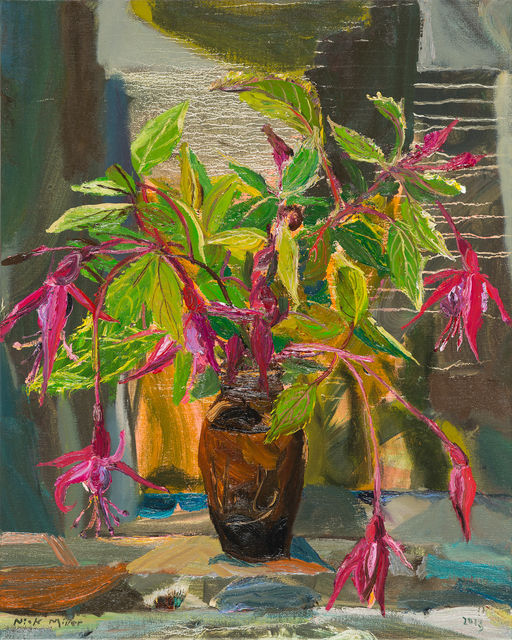 , 'Fuchsias ,' 2013, Oliver Sears Gallery
