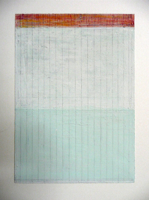 , 'Pale Green and Orange On White,' 2005, Howard Scott Gallery