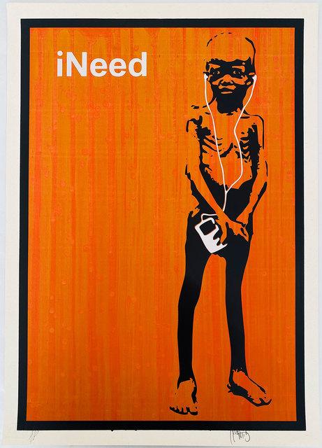 , 'iNeed (Orange),' 2006, Robert Fontaine Gallery