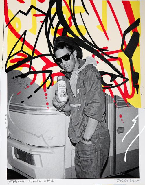 Janette Beckman, 'CRASH, Futura', 1982/2015, Fahey/Klein Gallery