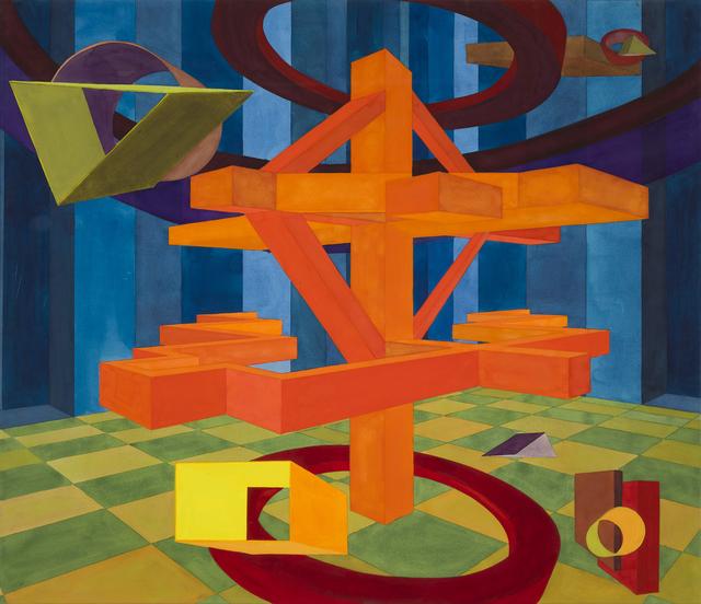 , 'Umbria XXIV,' 1992, Al Held Foundation