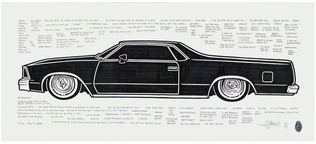 , '1986 El Camino,' 2015, Black Book Gallery