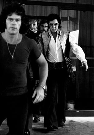 Elvis Presley at the Hilton Hotel in Philadelphia
