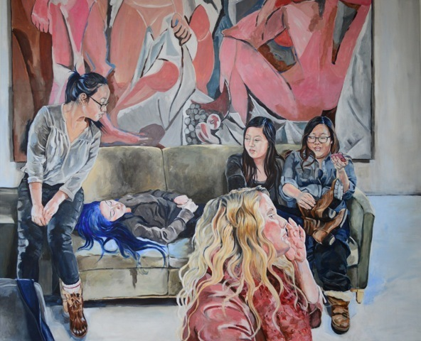 , 'Demoiselles (study),' 2017, Cynthia Corbett Gallery